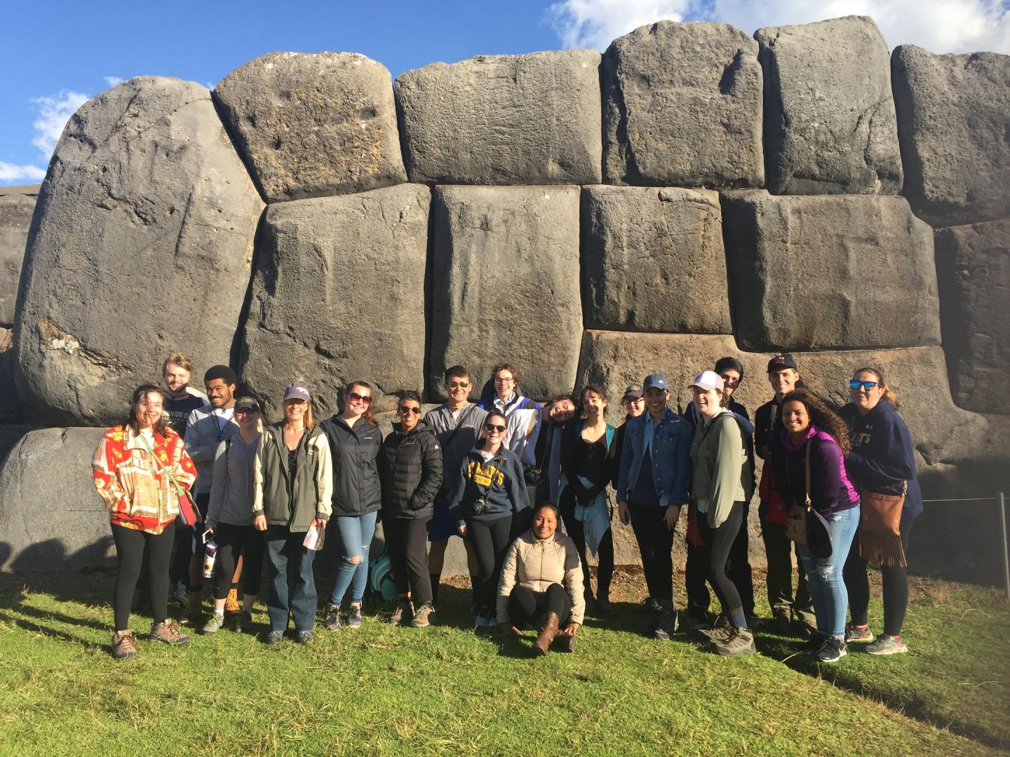 Study tour in Peru pictured
