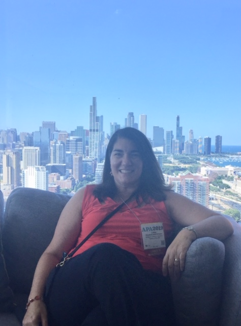 Williams at APA 2019 in Chicago