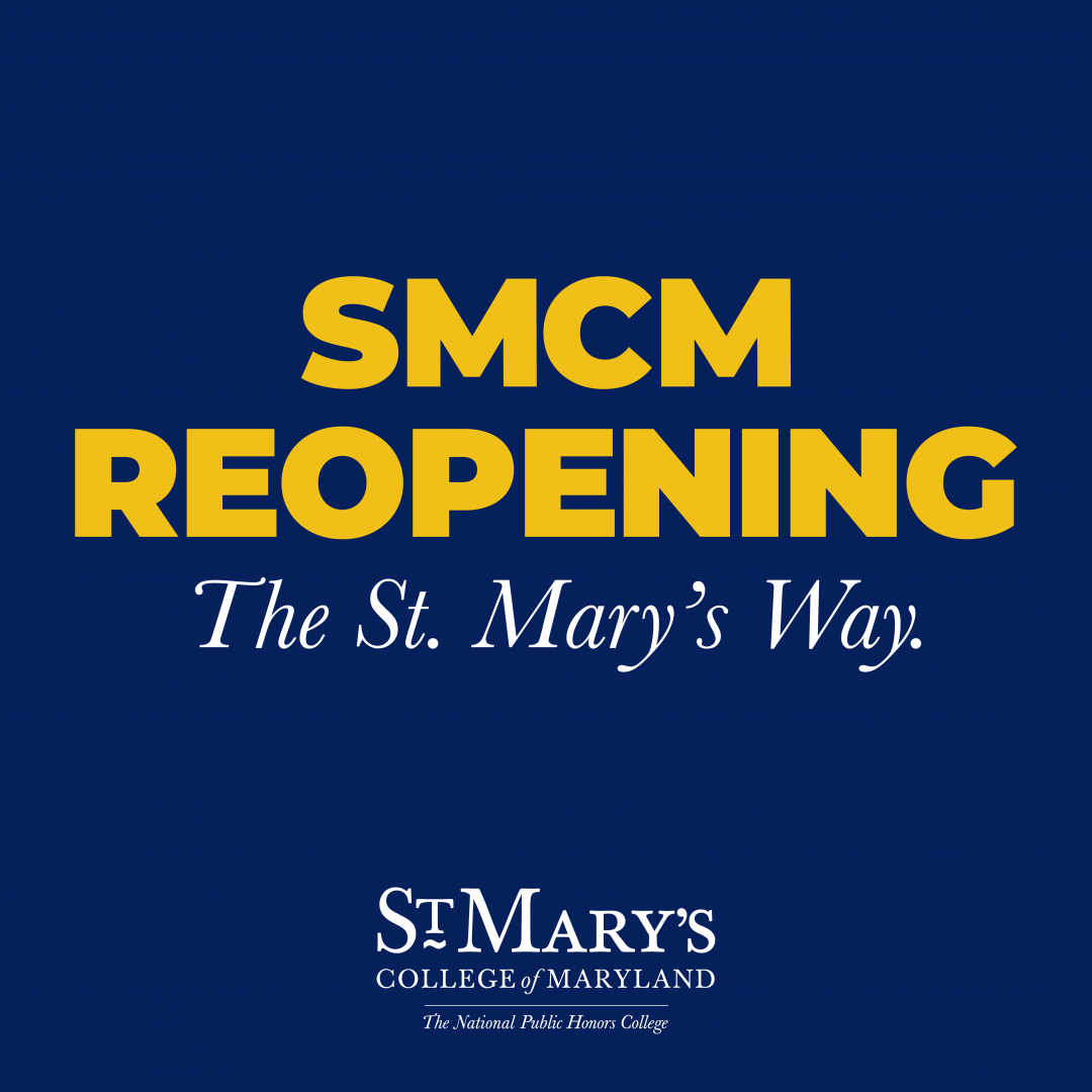 Reopening St. Mary's College the St. Mary's Way pictured.