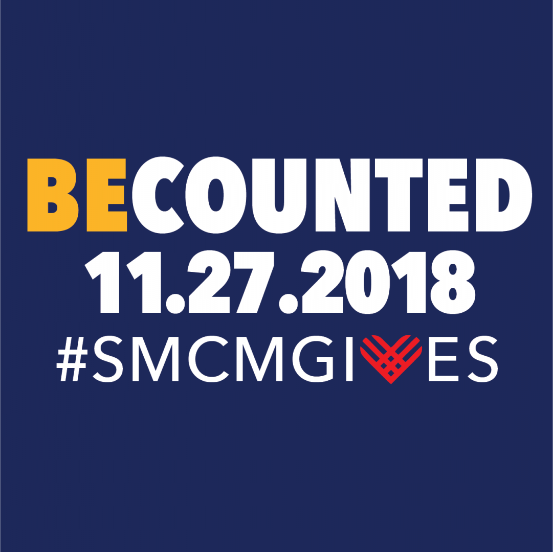 BeCounted on 11.27.2018 #smcmgives