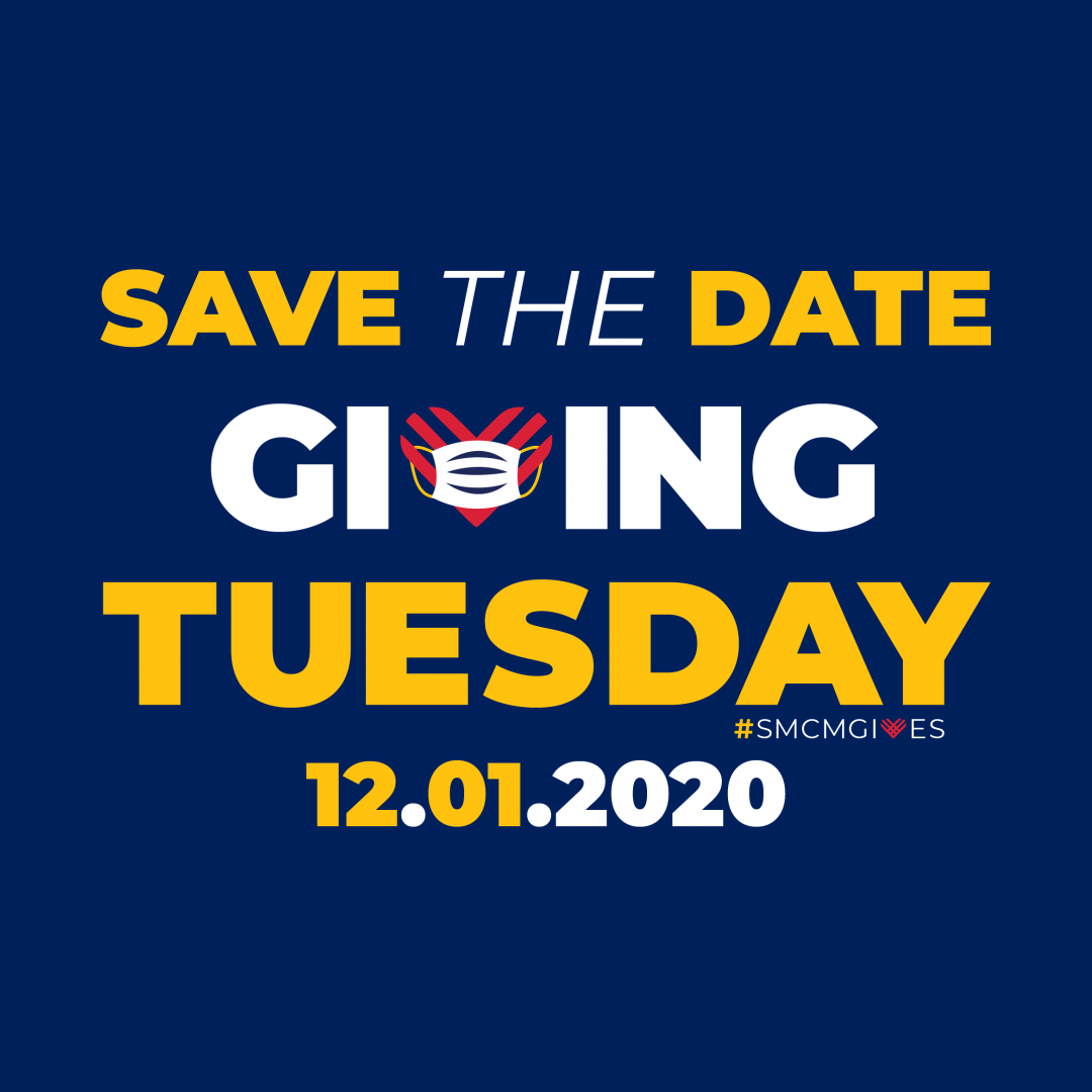 Save the Date for Giving Tuesday graphic shown