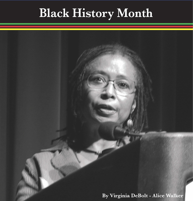 Alice Walker pictured