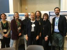 SMCM CUR Transformations Project Team Members at 2018 Conference (L to R: Drs. Mertz, Neiles, Bowers, Dillingham, Wooley, Koenig, and Foster) pictured