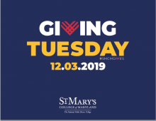 Giving Tuesday BeCounted logo pictured