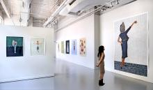 Gallery exhibition shown