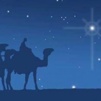 image featuring three wise men and north star
