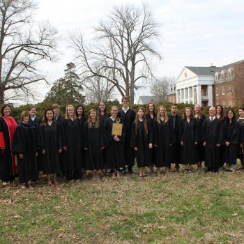 Phi Beta Cappa inductees pictured