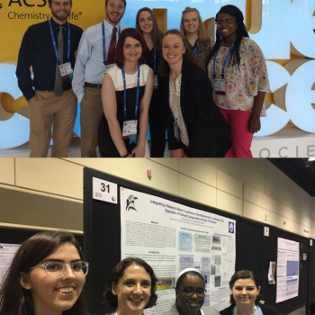 SMCM Chemistry and Biochemistry Students Present at National Conferences