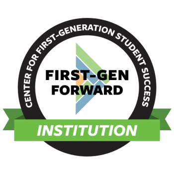 First Forward Institution logo pictured