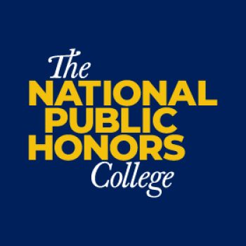 The National Public Honors College logo displayed